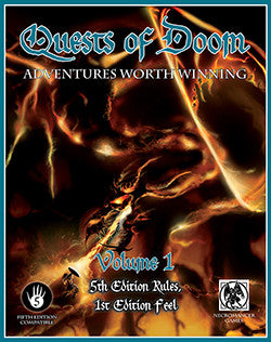 Quests of Doom Volume 1