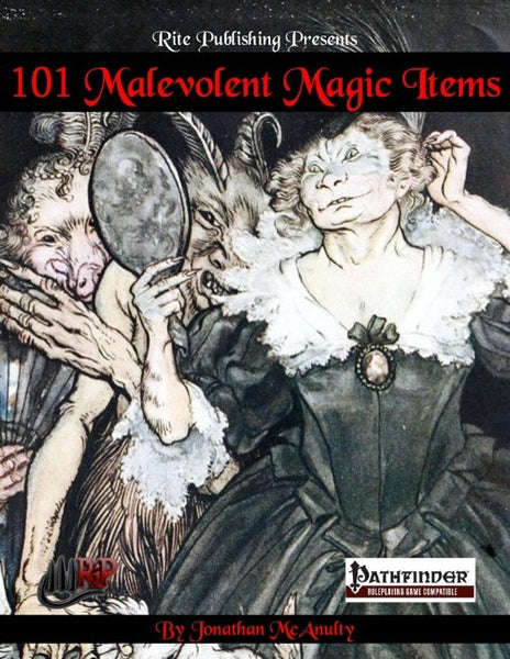 101 Malevolent Magic Items