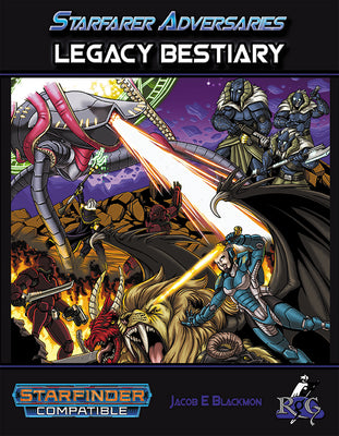 Starfarer Adversaries: Legacy Bestiary