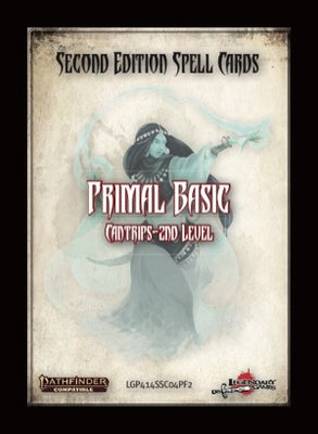 Second Edition Spell Cards: Primal Basic