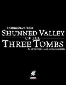 Shunned Valley of the Three Tombs