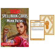 D&D SpellBook Cards - Monk Paths Cards (19 Cards)