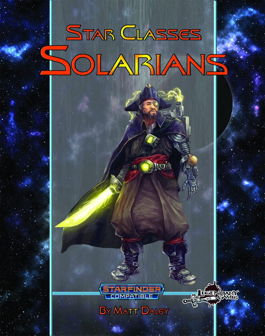 Star Classes: Solarians (Starfinder)