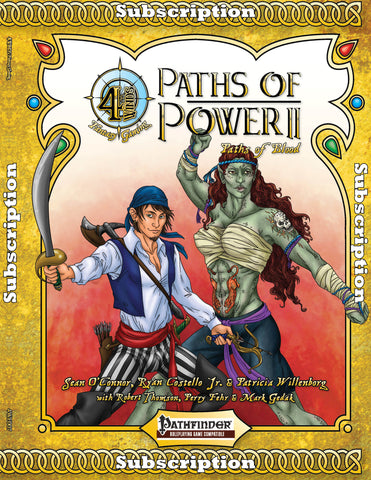 Paths of Power II: Paths of Blood Subscription