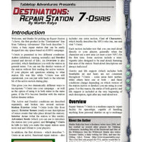 Destinations: Repair Station 7-Osiris
