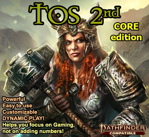 TOS 2nd CORE Edition
