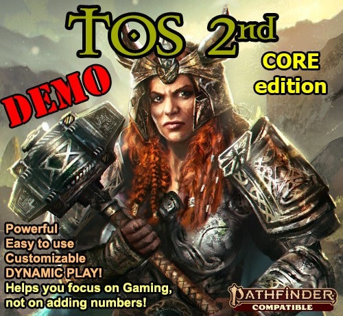 TOS 2nd CORE Edition - DEMO