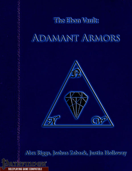 The Ebon Vault - Adamant Armors