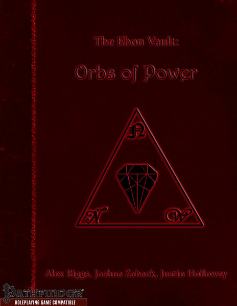 The Ebon Vault - Orbs of Power