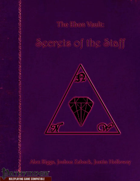 The Ebon Vault - Secrets of the Staff