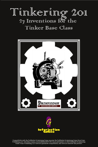 Tinkering 201: 27 Inventions for the Tinker Base Class