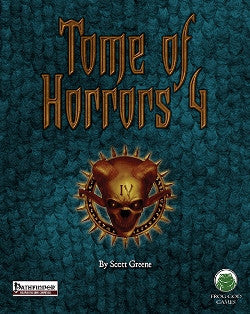 The Tome of Horrors 4 (PFRPG)