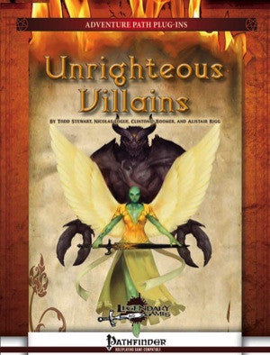 Unrighteous Villains