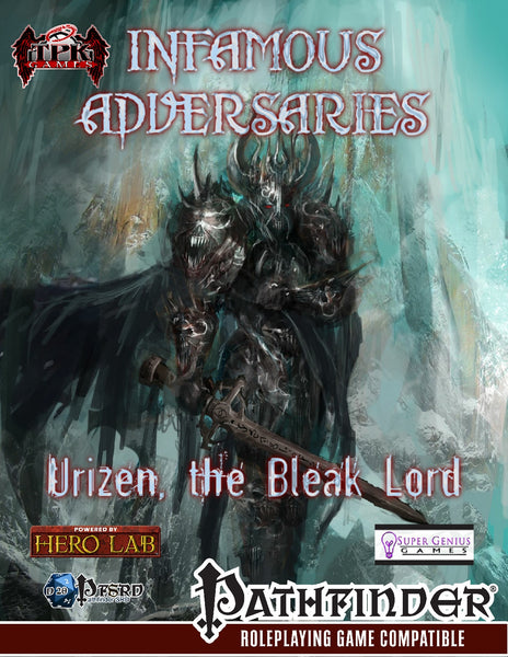 Infamous Adversaries: Urizen the Bleak Lord