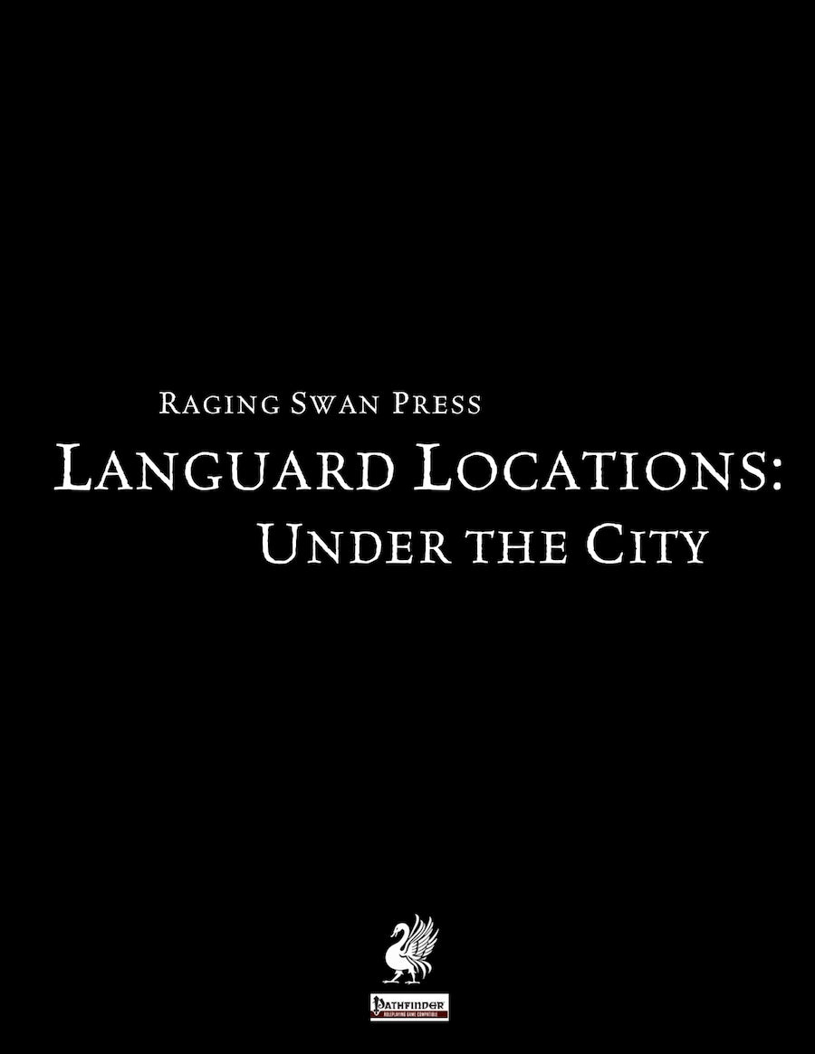 Languard Locations: Under the City