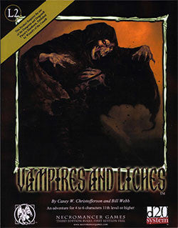 Vampires and Liches (d20)