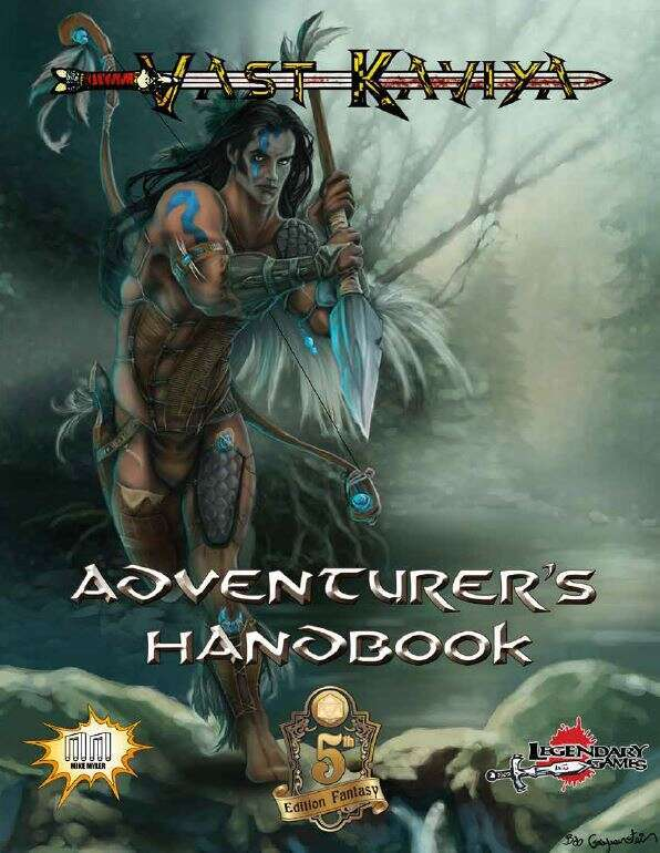 Vast Kaviya Adventurer's Guide (5E)
