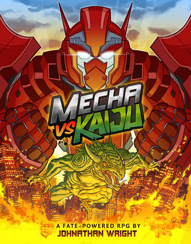 Mecha vs Kaiju (Fate Powered)