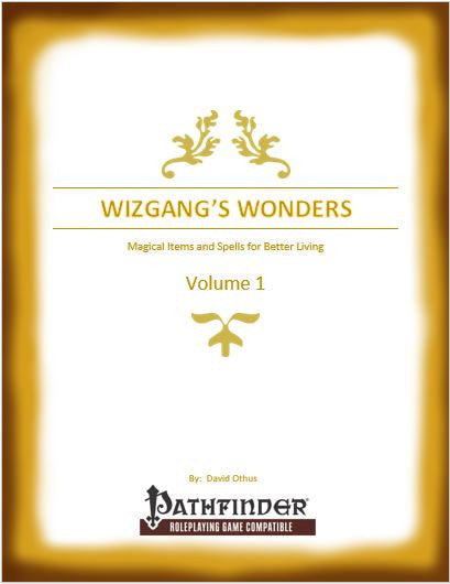 Wizgang's Wonders Volume 1
