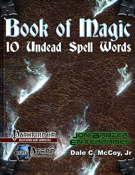 Book of Magic: 10 Undead Words of Power (PFRPG)