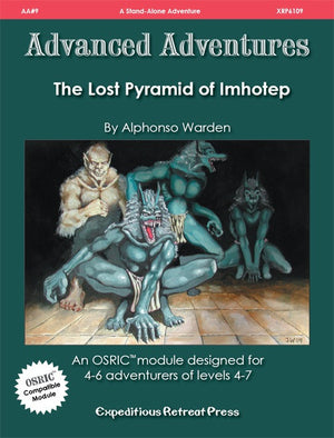 Advanced Adventures #9: The Lost Pyramid of Imhotep