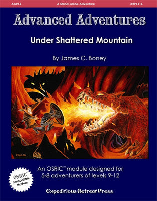 Advanced Adventures #16: Under Shattered Mountain