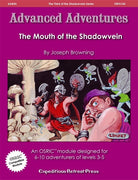 Advanced Adventures #24: The Mouth of the Shadowvein