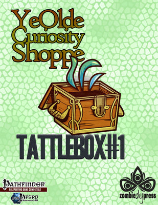 Tattlebox #1: Ye Olde Curiosity Shoppe