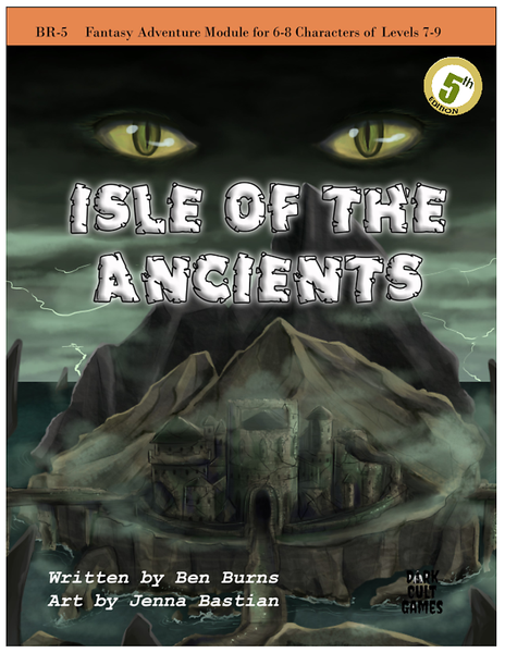 BR5 - Isle of the Ancients 5E
