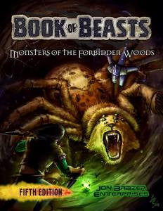 Book of Beasts: Monsters of the Forbidden Woods (5e)