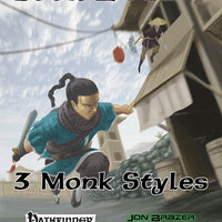 Book of Feats: 3 Monk Styles (PFRPG)