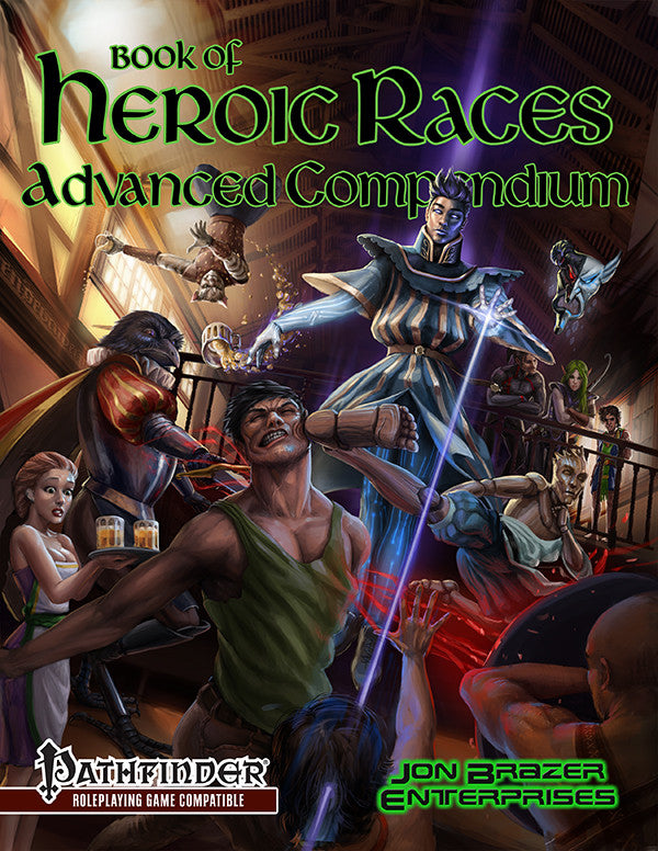 Book of Heroic Races: Advanced Compendium (PFRPG)