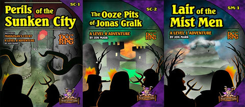 Lair of the Perilous Ooze Bundle