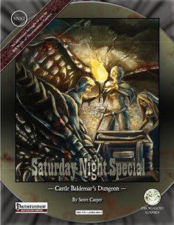 Saturday Night Special 2: Castle Baldemar's Dungeon (PFRPG)