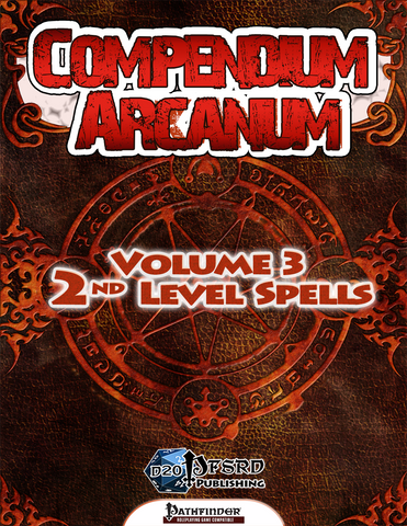 Compendium Arcanum Volume 3: 2nd-Level Spells