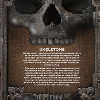 Journals of Dread Vol. II: Secrets of the Skeleton