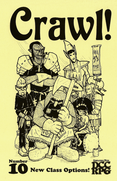 Crawl! Fanzine No. 10: New Class Options!