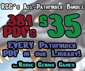 Rogue Genius Games ALL PATHFINDER ULTRABUNDLE!