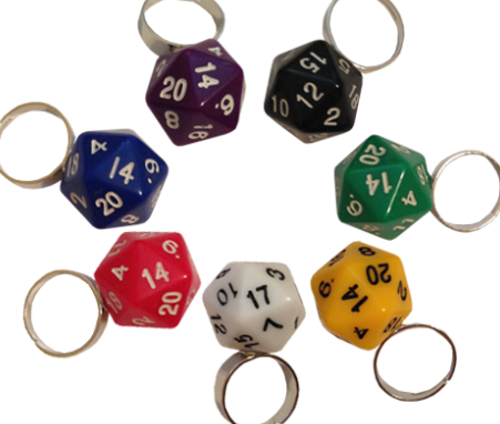 d20 ring (One Size Fits Most)