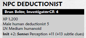 The Deductionist