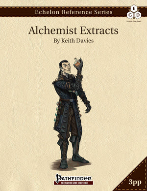 Echelon Reference Series: Alchemist Extracts (3pp+PRD)