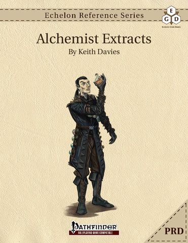 Echelon Reference Series: Alchemist Extracts (PRD-Only)