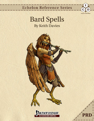 Echelon Reference Series: Bard Spells (PRD-Only)