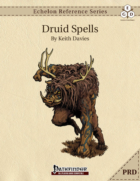 Echelon Reference Series: Druid Spells (PRD-Only)