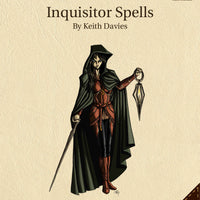 Echelon Reference Series: Inquisitor Spells (3pp+PRD)