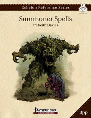 Echelon Reference Series: Summoner Spells (3pp+PRD)