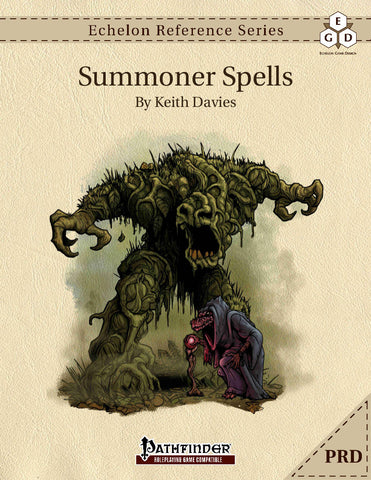 Echelon Reference Series: Summoner Spells (PRD-Only)