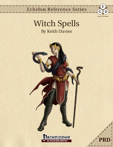 Echelon Reference Series: Witch Spells (PRD-Only)