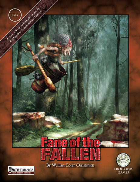 Fane of the Fallen (PFRPG)