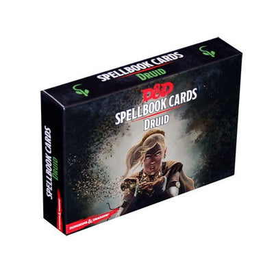 D&D SpellBook Cards - Druid Spell Cards (110 Cards)